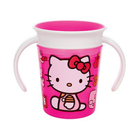 Munchkin Hello Kitty Miracle 360 Trainer Cup, 6 Ounce