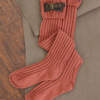 Tall Buckle Boot Sock by Simply Noelle