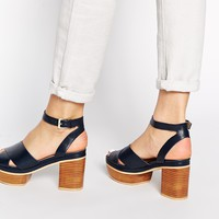 ASOS HERE AND NOW Heeled Sandals at asos.com