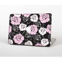 """The Pink and Black Rose Pattern V3 Skin for the Apple MacBook Air 13"""""""