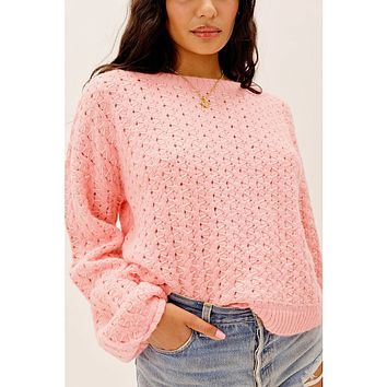Dawn Hi Low Pullover by For Love & Lemons