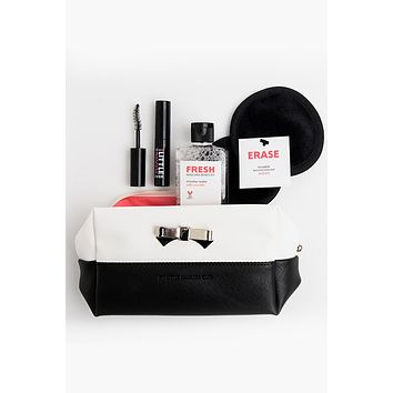 EXQUISITE GIFT SET: mascara + remover + wipes + bag