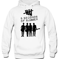 5 Seconds Of Summer Album Cover Hoodie