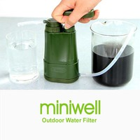Travel kit Backpacking Water Filter for a group camping