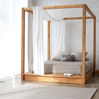 MASH Studios - PCHSeries Canopy Bed PCH.95.74.84.W.1 at 2Modern