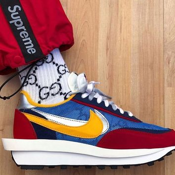 shosouvenir Nike x sacai Waffle Daybreak Running shoes for men and women