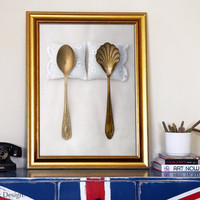 Spooning photo 20x30 50x70 cm BIG poster fine by petekdesign