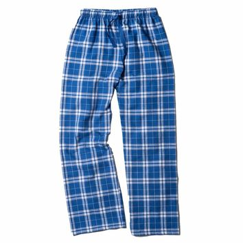 Boxercraft Royal and Silver Flannel Pant