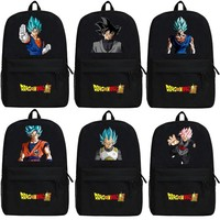 Japanese Anime Bag  Dragon Ball Z Son Goku Backpack Cartoon Dragon Ball Super Kakarotto Bags Oxford Student School Bag Unisex AT_59_4