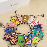 Cartoon Cute Touch Mini Pen Stylus For Smartphone Laptop Tablet Penna Con Hello Kitty Minion Stylus Screen Touch Penne Mickey