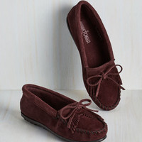 Festival Fundamental Footwork Flat in Raisin