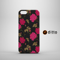 PRETTY PINK FLOWERS Design Custom Case by ditto! for iPhone 6 6 Plus iPhone 5 5s 5c iPhone 4 4s Samsung Galaxy s3 s4 & s5 and Note 2 3 4