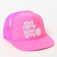 Rip Curl The Skinny Trucker Hat - Womens Hat - Pink - One