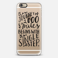 iPhone Case // Hand Lettering // Journey of 1000 Miles