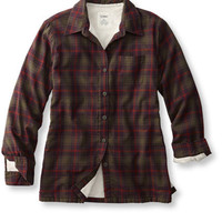 Fleece-Lined Flannel Shirt: Corduroy and Flannel | Free Shipping at L.L.Bean