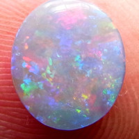 NEW LISTING -Opal oval solid Cabochon from  Lightning Ridge- Ring Stone.Lovely stone!