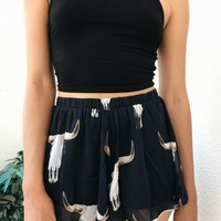 AMAL FLOW SHORTS - NAVY