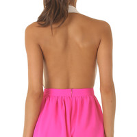 Shorts > NEON CHEMISTRY SHORTS IN PINK