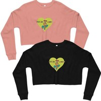 Tunnel Vision & Chill Cropped Sweatshirt