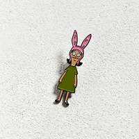 Bob's Burgers Louise Pin   Urban Outfitters