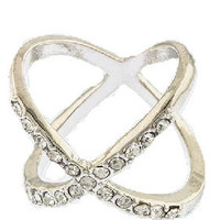 X Ring (Silver)