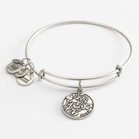 Women's Alex and Ani 'Aunt' Expandable Wire Bangle