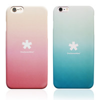 Hot Deal Stylish Iphone 6/6s Cute On Sale Korean Iphone Sweets Gradient Apple Matte Phone Case [8153010887]