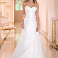 A-Line wedding dress 2015 imagined and handcrafted