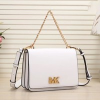 MK Women Shopping Bag Leather Satchel Crossbody Shoulder Bag White I-LLBPFSH Tagre™