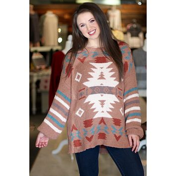 Aztec Softest Plush Sweater