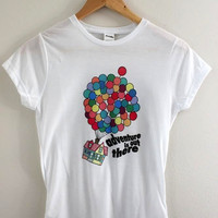 Adventure is Out There Graphic Junior's Fitted Tee