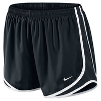 Nike Printed Tempo Running Shorts(Small, Black)