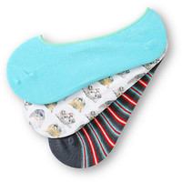 Empyre 3 Pack Bitty Kitty No Show Socks