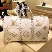 Louis Vuitton LV Hot Sale Men Women Leather Luggage Travel Bags Tote Handbag
