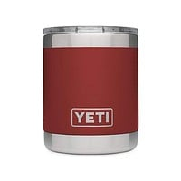 10 oz. Rambler Lowball in Brick Red by YETI