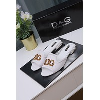 DG Popular Summer Women's Flats Men Slipper Sandals Shoes 0315xf