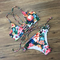 Summer New Arrival Swimsuit Hot Beach Adjustable Sexy Swimwear Bikini [10603724367]