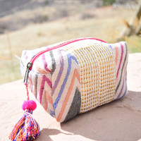 Jaipur Embroidered Tassel Bag