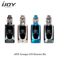 Sigaretta Elettronica Original Ijoy Avenger Kit Video Control TC Kit 230W Avenger PD270 Mod Vape With AVENGER SUBOHM Tank Vaper