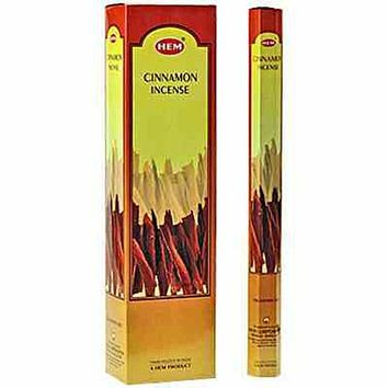 "Hem Cinnamon 16""L  Jumbo Sticks - 10 Sticks (6 Packs Per Box)"