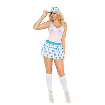 Sexy Plus Size The Tee Golf Woman Costume