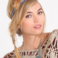 Aztec Warrior Feather Headband - $18.00 : ThreadSence.com, Your Spot For Indie Clothing  Indie Urban Culture