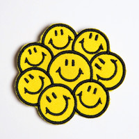 Happy Happy Patch Pin