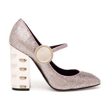 NICHOLAS KIRKWOOD   Scarpa Glitter Mary Janes   brownsfashion.com   The Finest Edit of Luxury Fashion   Clothes, Shoes, Bags and Accessories for Men & Women