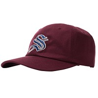 Gothic Low-Pro Cap in Burgundy