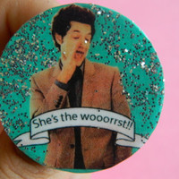 Parks and Recreation Jean Ralphio brooch/pin