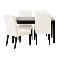 """BJURSTA/HENRIKSDAL Table and 4 chairs - 55 1/8 """" - IKEA"""