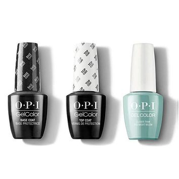 OPI - GelColor Combo - Base, Top & Closer Than You Might Belém