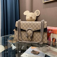 GUCCI Dionysus medium GG shoulder bag
