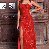 Shail K 3165 at Prom Dress Shop